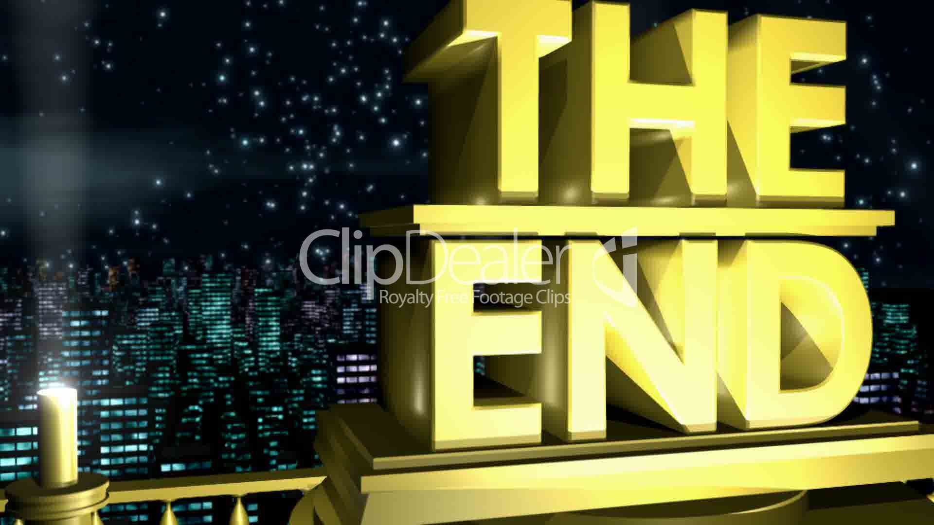 the end hd1080  royalty