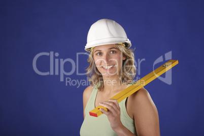 Bauarbeiterin 2 Lizenzfreie Bilder Und Fotos
