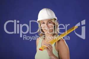Bauarbeiterin 2