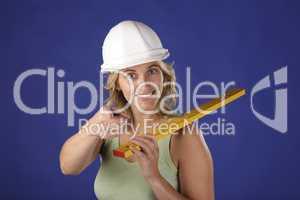 Bauarbeiterin 3