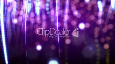 purple confetti loop