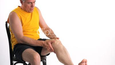 Man Knee Pain