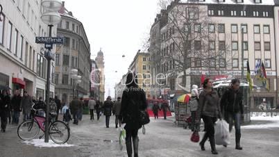 Einkaufsbummel in München