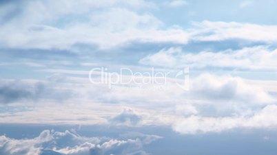 In den Wolken, Augenhöhe (Zeitraffer)