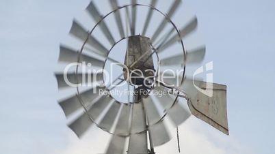 Details of windmill in farm