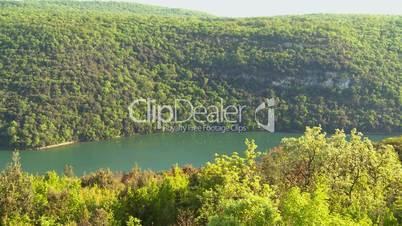 Limski Kanal in Kroatien (Limfjord)