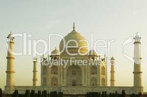 Facade of a monument, Taj Mahal, Agra