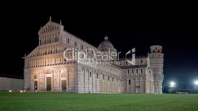 Pisa, Nachts in Zeitraffer