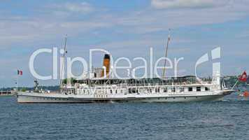 Dampfschiff Savoye