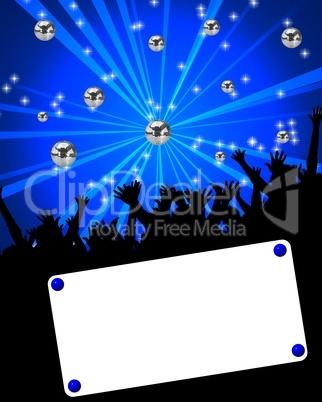 Veranstaltungsplakat für Party