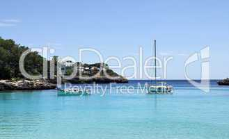 Mallorca Bucht Cala Gran