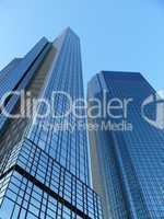 Deutsche Bank-Hochhäuser in Frankfurt