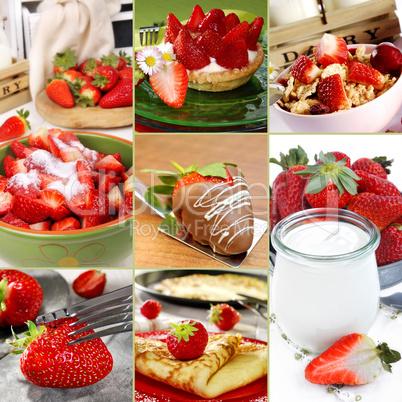 Erdbeeren Variationen