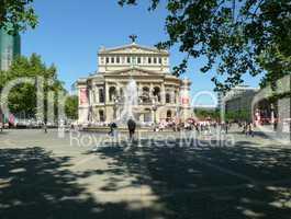Platz an der Alten Oper in Frankfurt