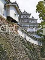 Detail of Himeji Castle