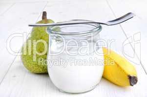 Joghurt im Glas