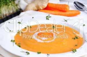 Möhren - Karotten - Suppe