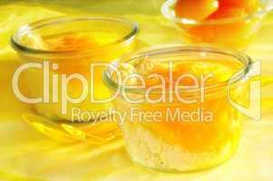 Aprikosen Dessert im Glas