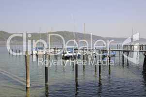 Bootshafen von Bodman am Bodensee