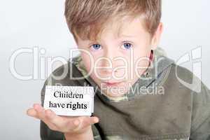 Kinder haben Rechte