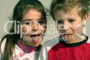 Freche Kinder