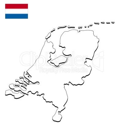 Niederlande Karte Umriss.Landkarte Niederlande Lizenzfreie Bilder Und Fotos