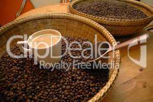 Portion Kaffee
