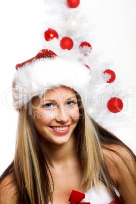 Close-up Weihnachtsfrau 15