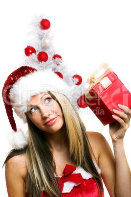 Close-up Weihnachtsfrau 20