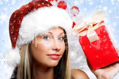 Close-up Weihnachtsfrau 22