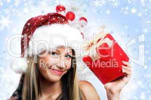 Close-up Weihnachtsfrau 23