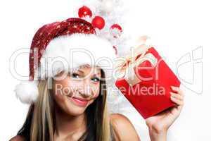 Close-up Weihnachtsfrau 24