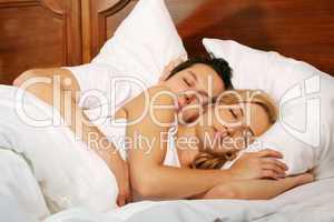 Paar im Bett 4