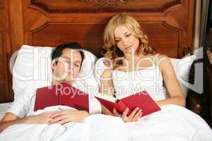 Paar im Schlafzimmer 6