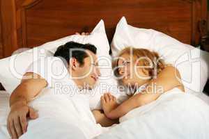 Paar im Bett 17