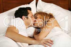 Paar im Bett 19