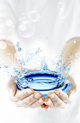 Illustration Wasser