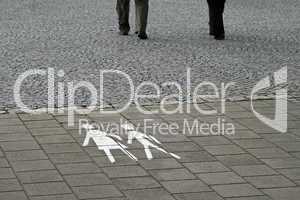Fußgängersymbol