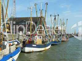 Fischkutter in Cuxhaven