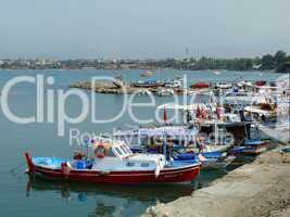 Hafen von Side
