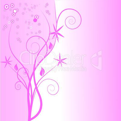 Blütenornament