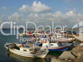 Hafen in Side