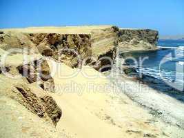 Steilküste in Peru