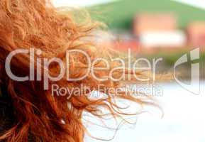 red haired woman / Rote Haare