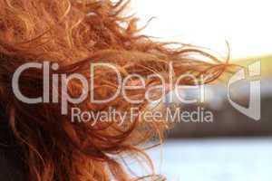 red haired woman / Rite Haare
