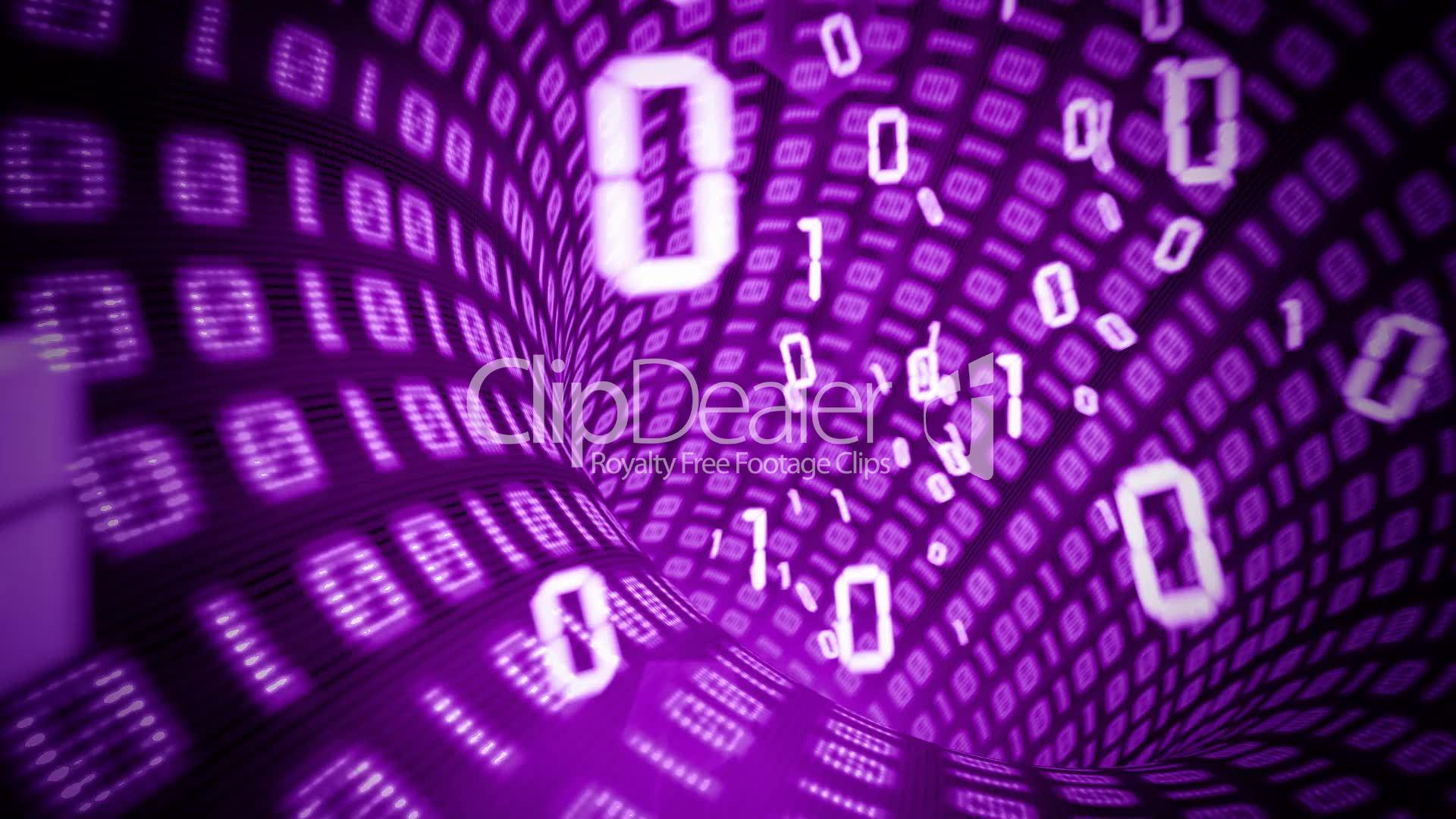 Binary internet tunnel: Lizenzfreie Stock Videos und Clips