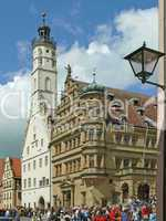 Rathaus in Rothenburg