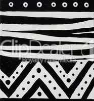 african design black and white