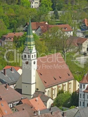 Kirche in Pappenheim