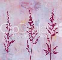 digital wildflower illustration